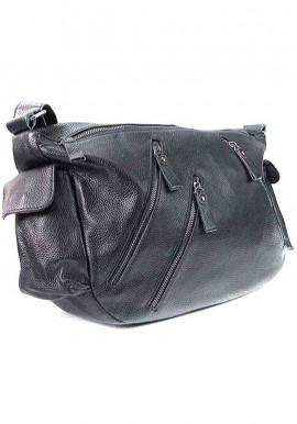 Фото Черная женская кожаная сумка 6627