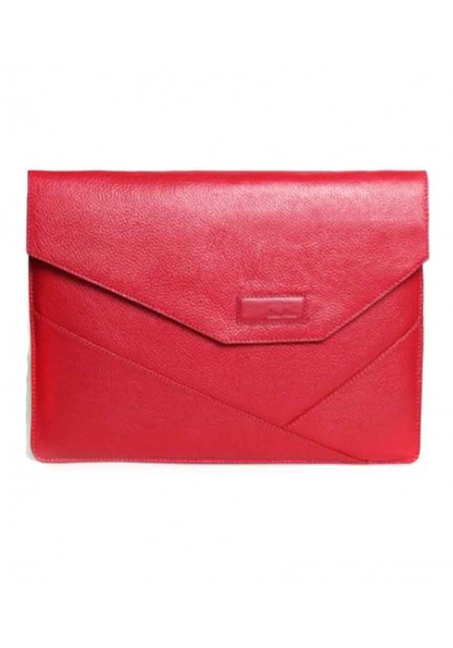 Папка для ноутбука MacBook 12″ ISSA HARA красная