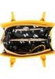 Качественная сумка женская Камелия желтая, фото №4 - интернет магазин stunner.com.ua
