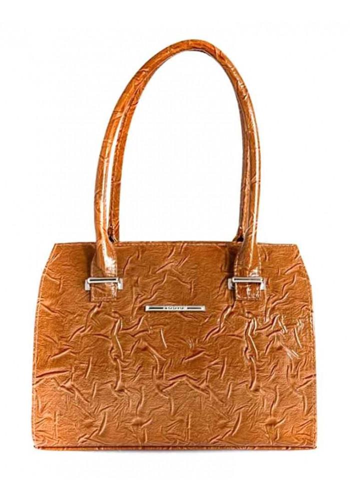 Качественная сумка женская Камелия лаковая