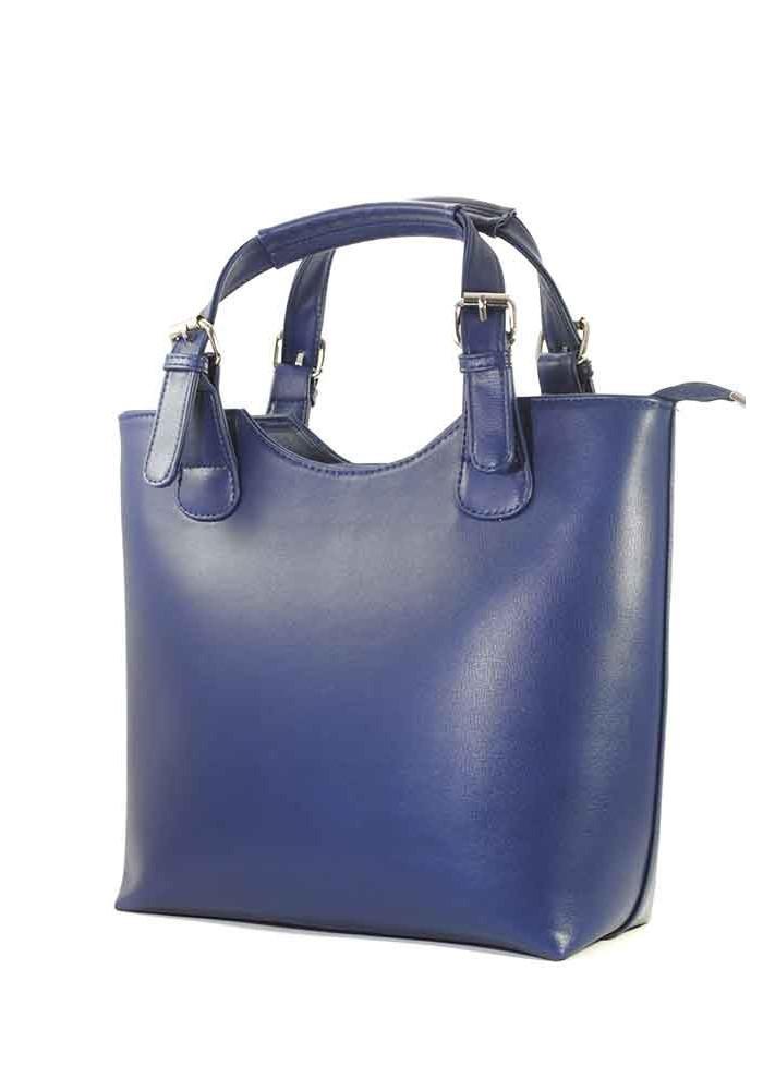 Синяя женская сумка шопер Betty Pretty