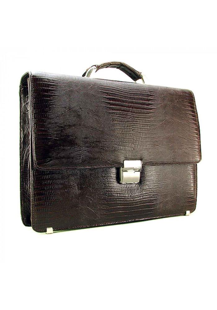 Мужской кожаный портфель Desisan 205-142 коричневый