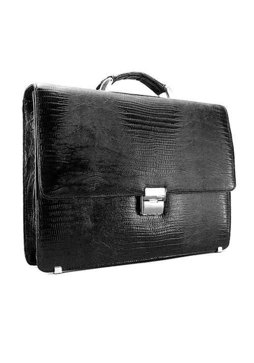 Мужской кожаный портфель Desisan 205-142 черный