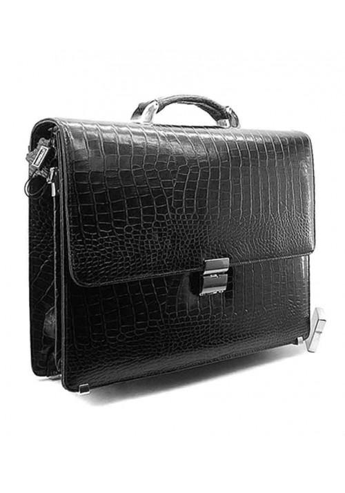 Мужской кожаный портфель Desisan 205-11