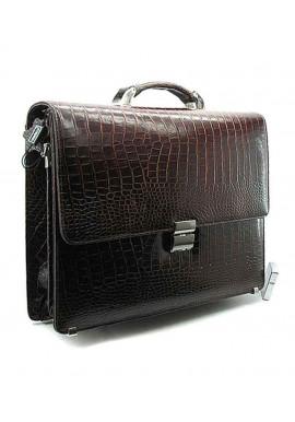 Фото Мужской кожаный портфель Desisan 205-19