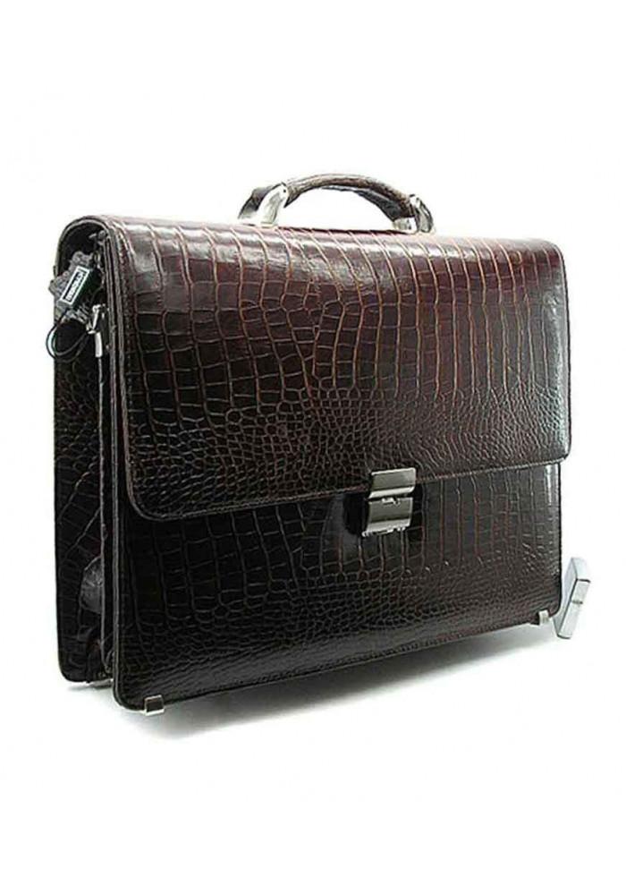 Мужской кожаный портфель Desisan 205-19