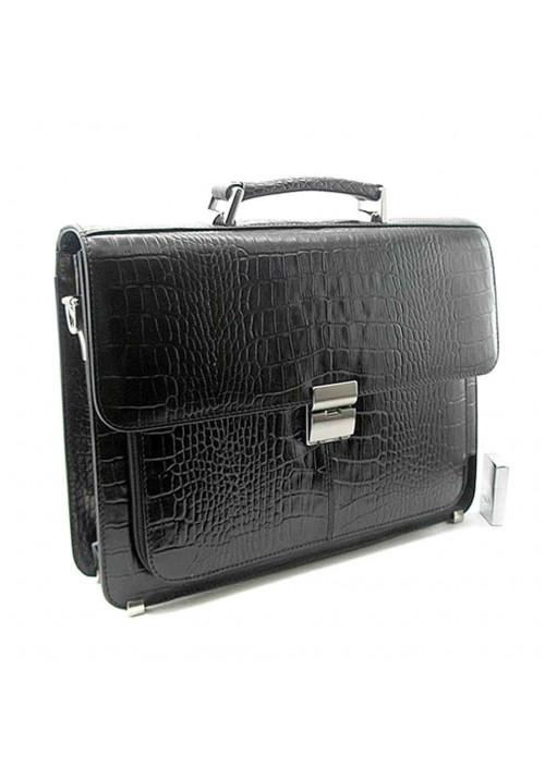 Мужской кожаный портфель Desisan P3-11