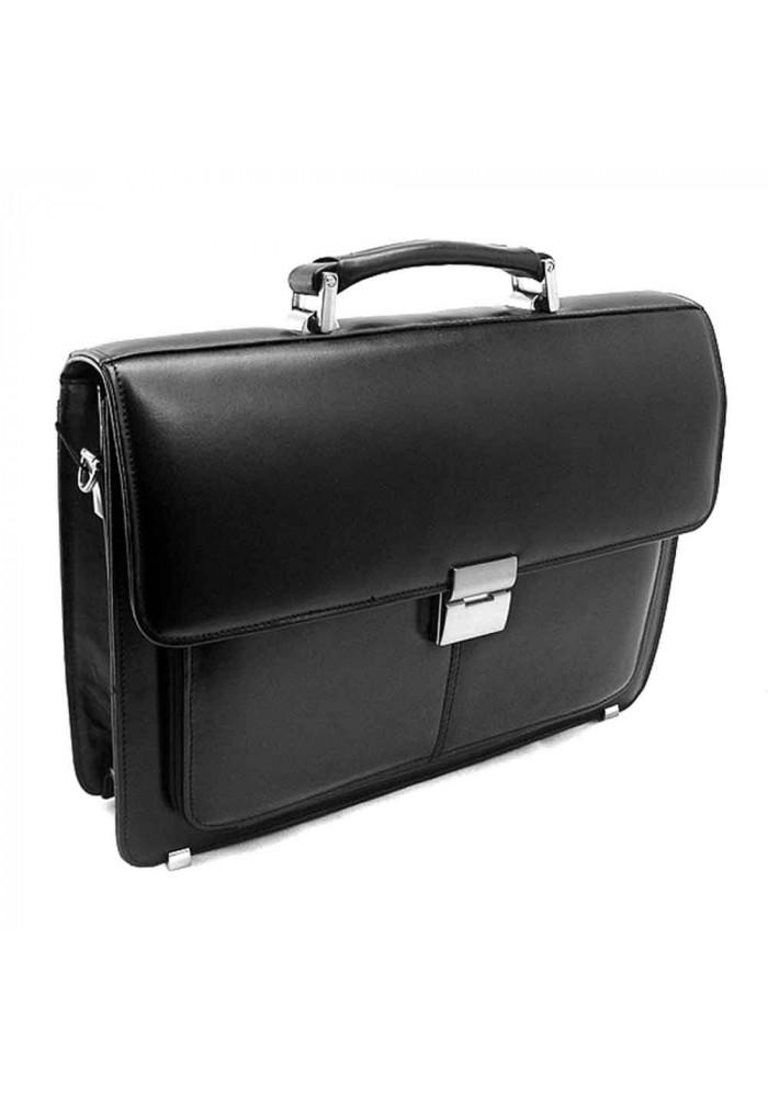 Мужской кожаный портфель Desisan P3-1