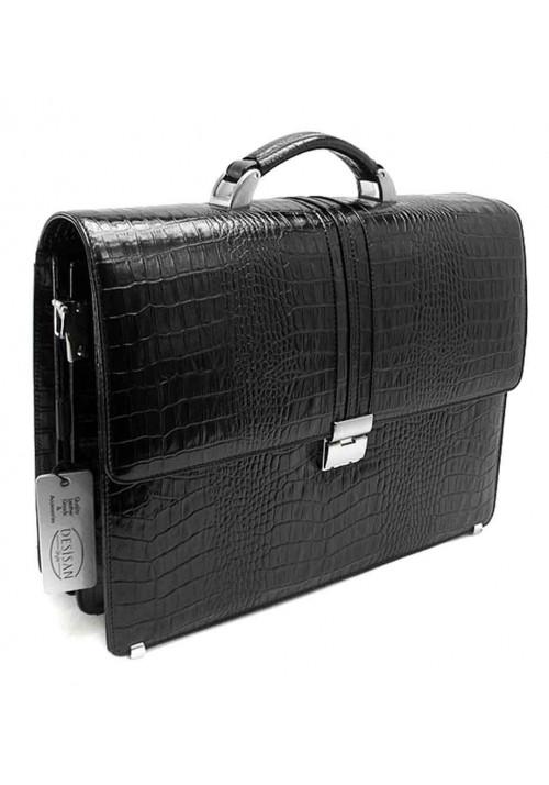 Кожаный мужской портфель Desisan 317-11