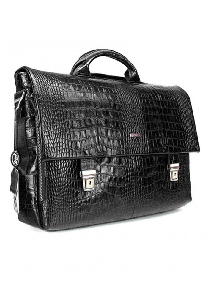 Кожаный мужской портфель Desisan 1315-19 черный