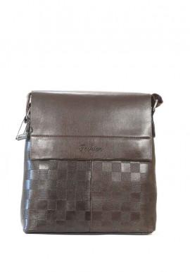 Фото Мужская сумка через плечо Fashion коричневая 105-3