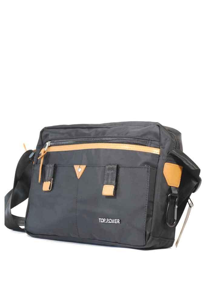 Горизонтальная мужская сумка через плечо Top Power