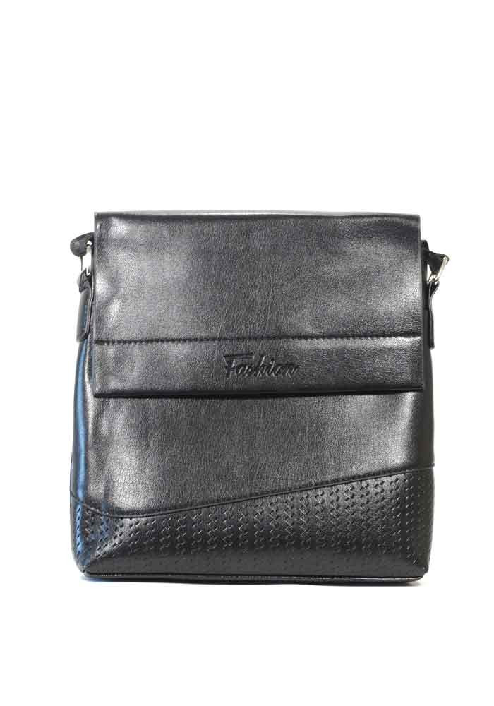 Мужская сумка через плечо Fashion 2058-2 черная