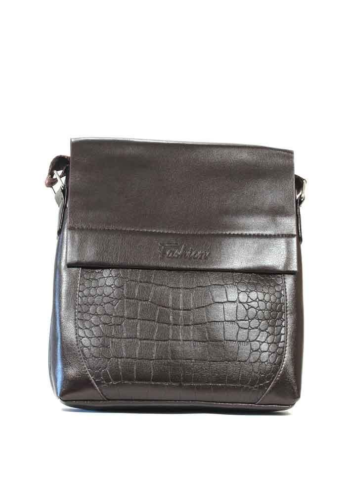 Мужская сумка через плечо Fashion 2063-2 коричневая
