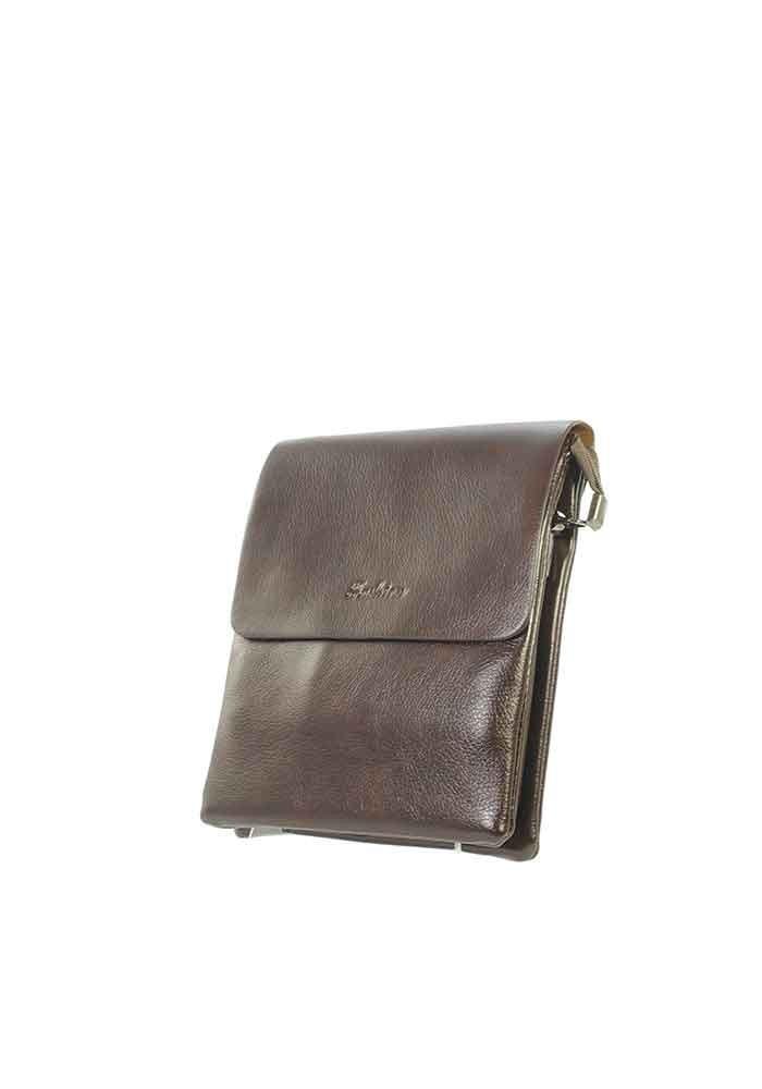 Маленькая мужская сумка через плечо Fashion 2060-2-BRN