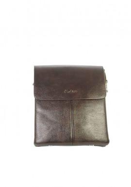 Фото Коричневая мужская сумка через плечо Fashion 2061-3-BRN