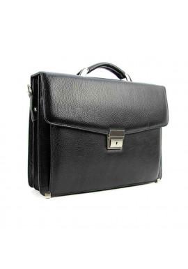 Фото Мужской кожаный фактурный портфель Canpellini 2026-011
