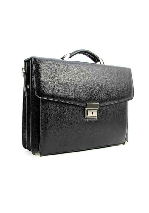 Мужской кожаный фактурный портфель Canpellini 2026-011