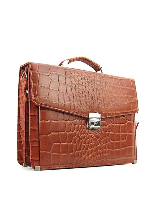 Мужской кожаный портфель Canpellini 2026-15
