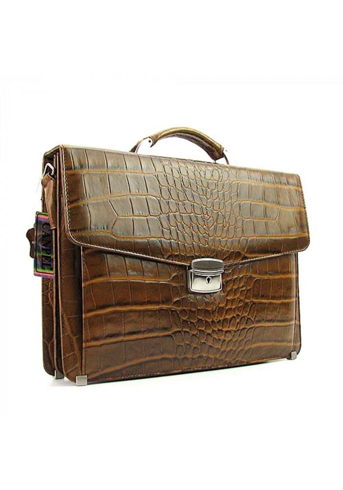 Мужской кожаный портфель Canpellini 2026-017