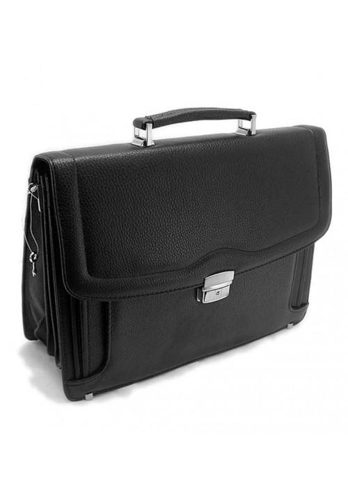 Черный мужской портфель 7828