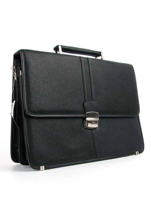 Черный мужской портфель 7838