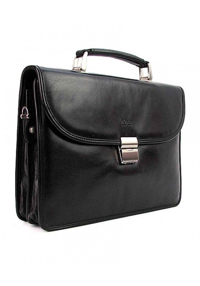 Мужской портфель кожаный Bond 1201