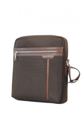 Фото Коричневая мужская сумка через плечо Dilasica 909-3-brn