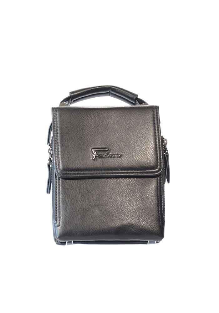 Черная мужская сумка через плечо Fashion с ручкой