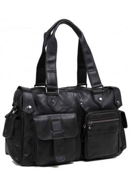 Фото Мужская кожаная дорожная сумка TIDING BAG 8400A