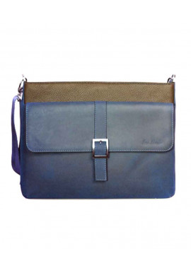 Модная мужская сумка ISSA HARA синяя