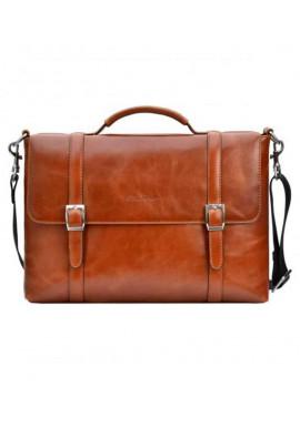 Фото Брендовая сумка для мужчины ISSA HARA рыжая