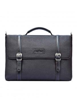 Фото Стильная сумка для мужчины ISSA HARA черная