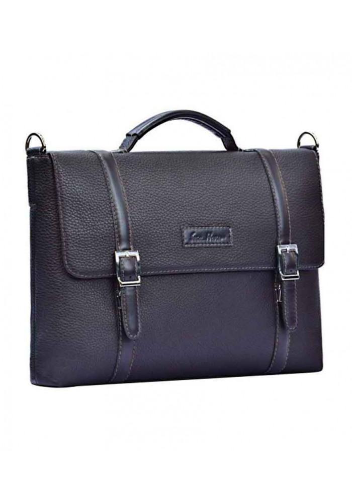 Стильная сумка для мужчины ISSA HARA черная