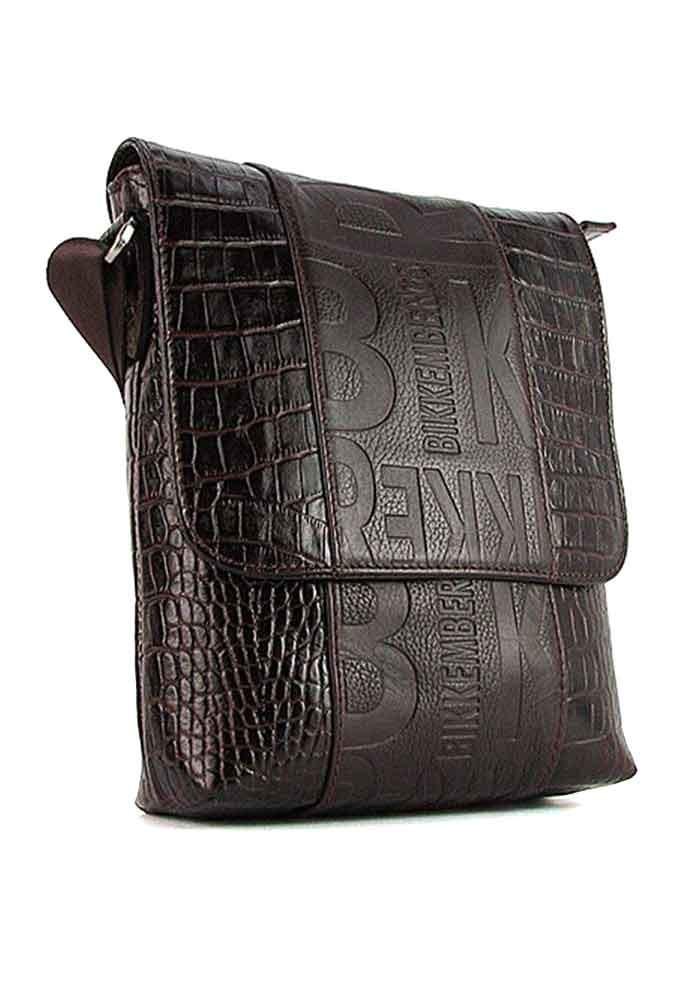 Мужская кожаная сумка Bikkembergs 1612-19
