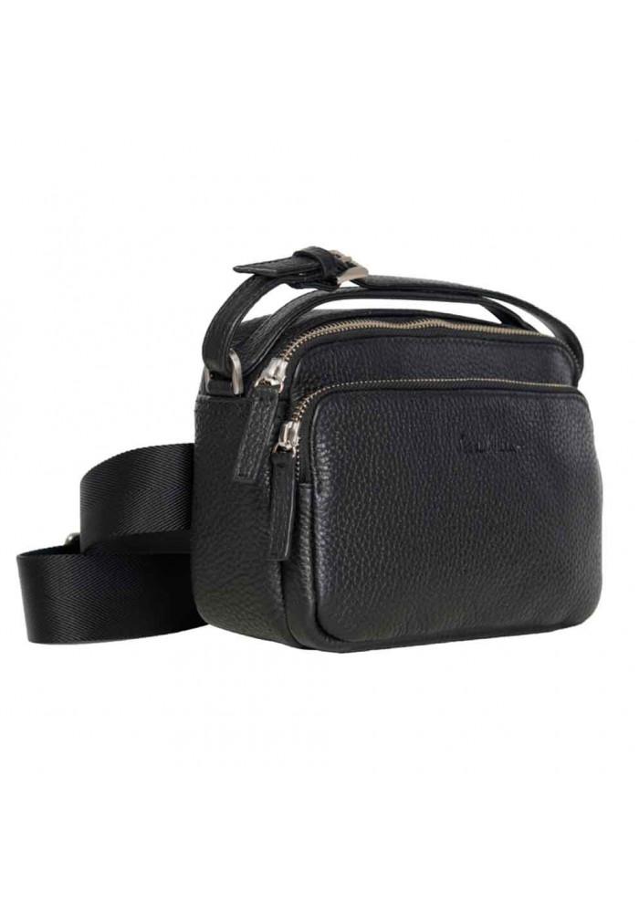 842c4482e268 ... Сумочка мужская кожаная ISSA HARA черная, фото №2 - интернет магазин  stunner.com ...