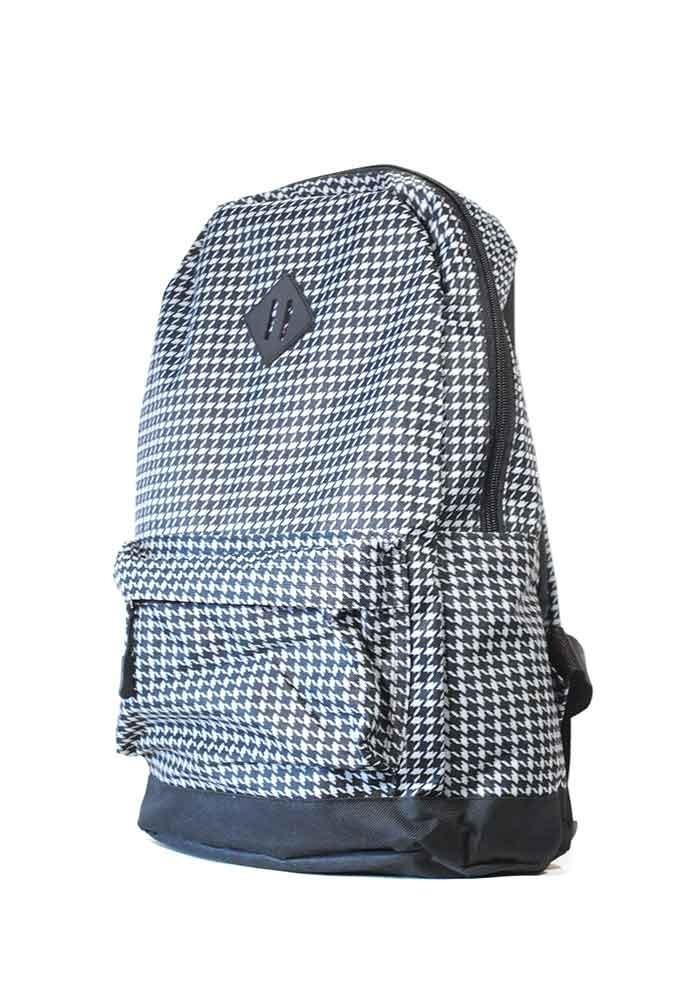 Черно-белый городской рюкзак