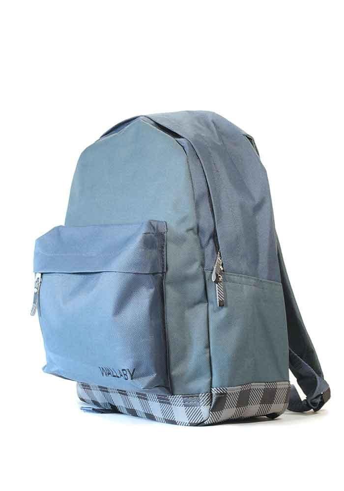 Серый городской рюкзак Wallaby