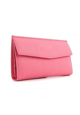 Фото Розовый женский кошелек из кожи 1237