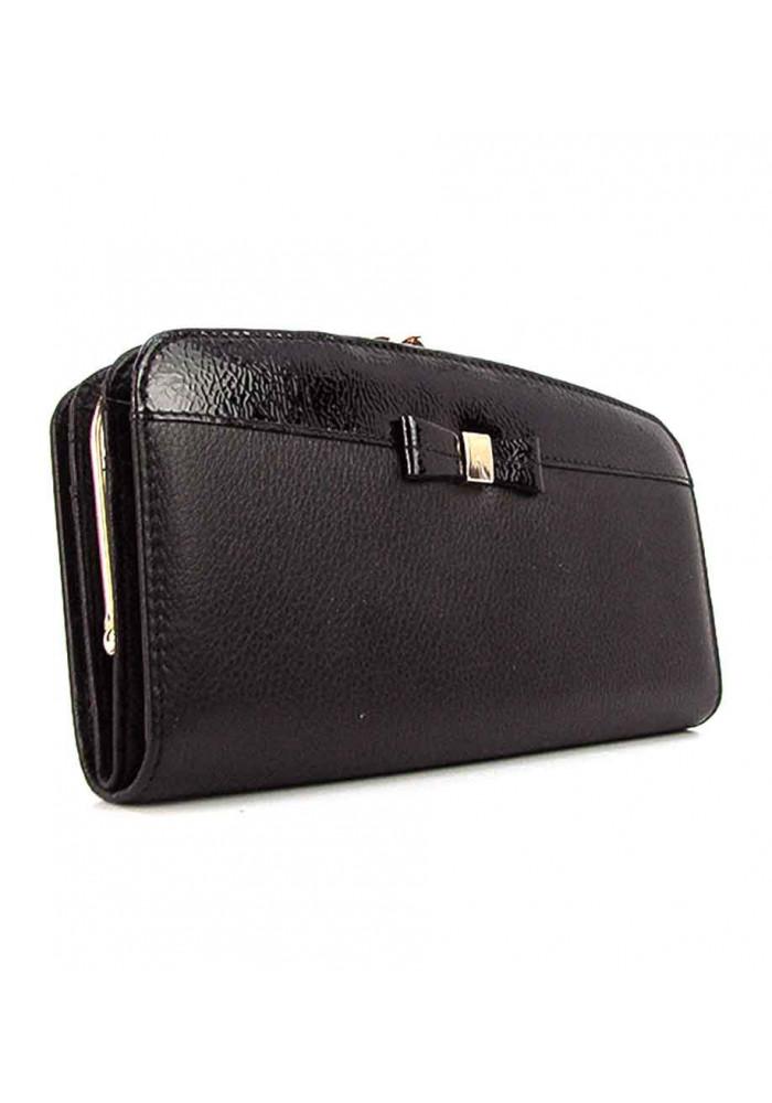 Женский кожаный кошелек с тремя отделениями Prensiti 2227