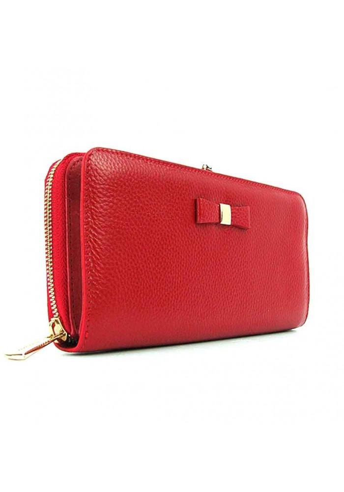 Женский кожаный кошелек с монетницей Prensiti 2256