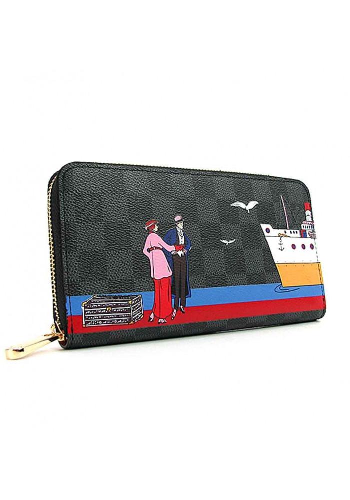 Цветной женский кошелек 62135