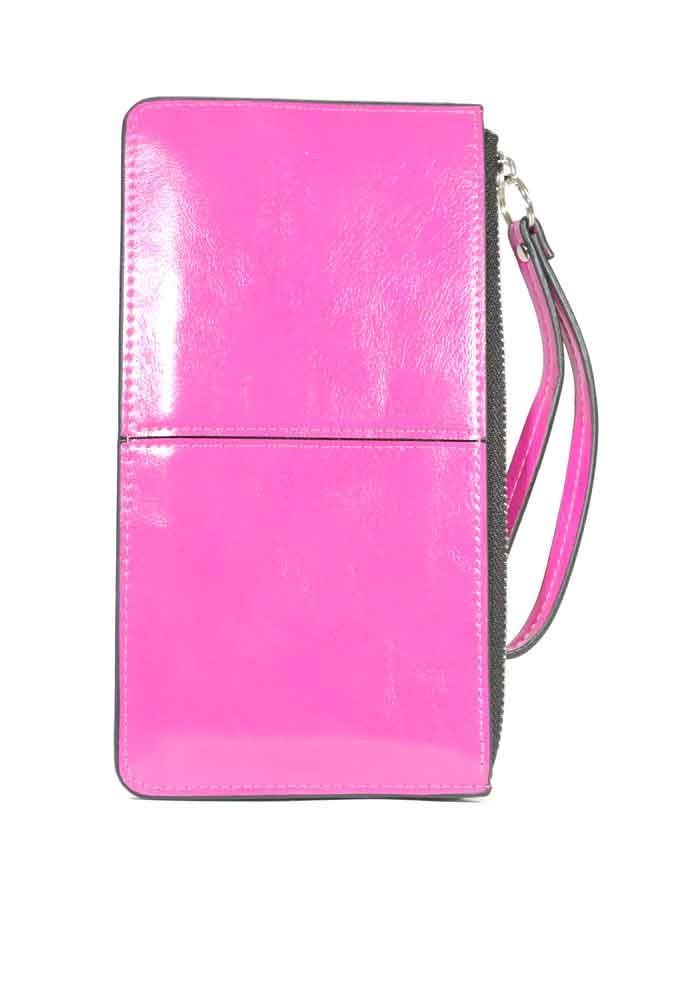 Женский кошелек на молнии с ручкой 837-Y208-16