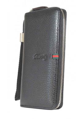 Фото Черный кошелек с ручкой HS 111