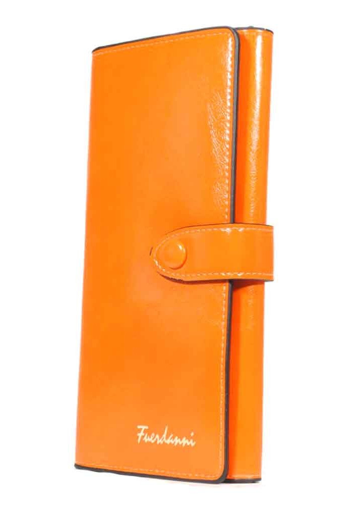 Фото Оранжевый женский кошелек Fuerdanni K35-Y208-17