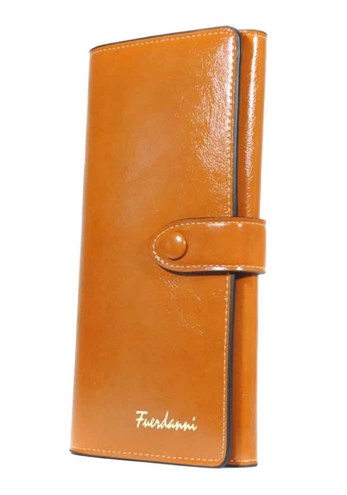 Светло-коричневый женский кошелек Fuerdanni