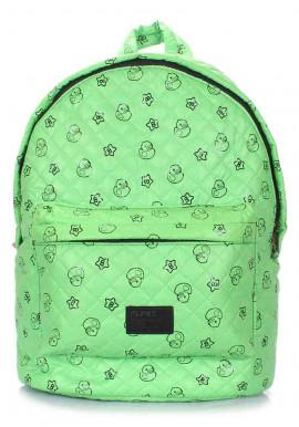 Фото Женский рюкзак с уточками Poolparty Backpack Theon Blue Ducks