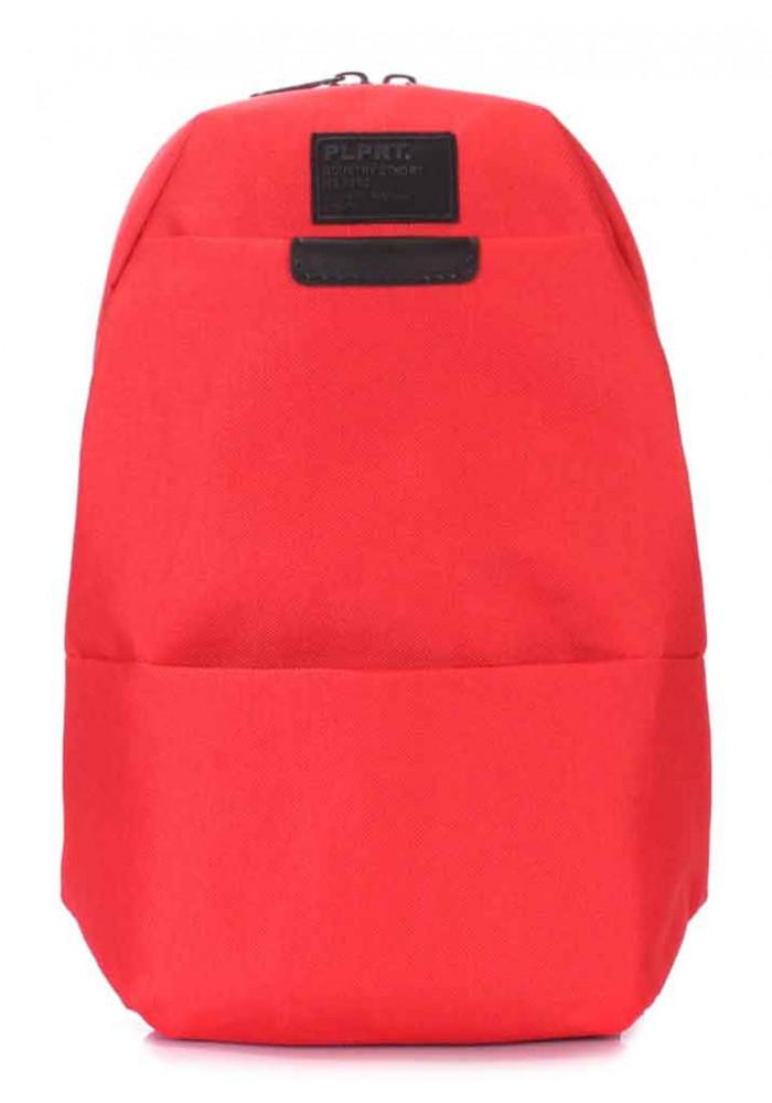 Рюкзак молодежный на одно плечо Poolparty Sling Red