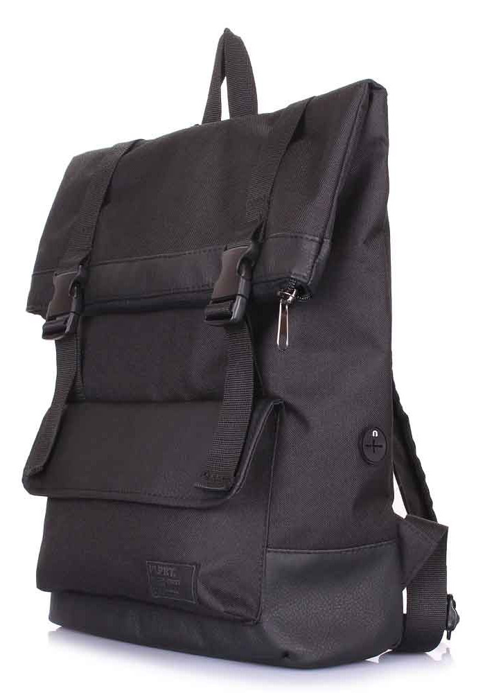 Рюкзак молодежный Poolparty Commando Black