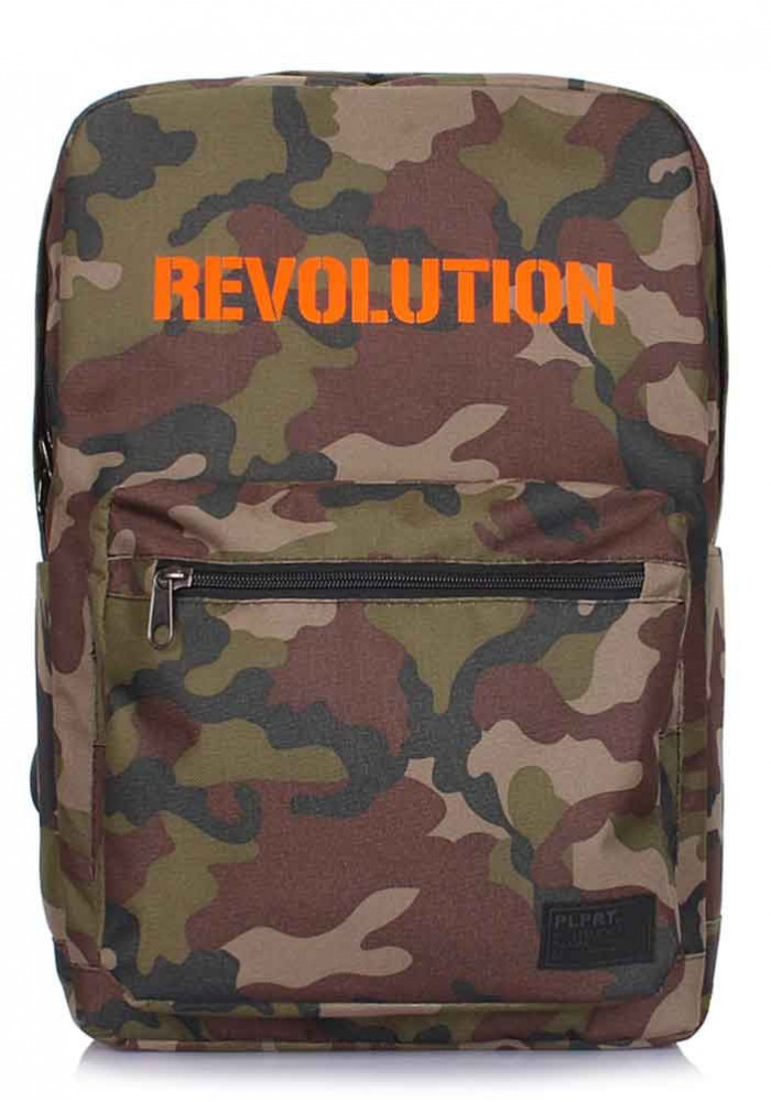 Рюкзак молодежный Poolparty Revolution Camo